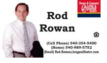 Rod Rowan - Long & Foster Realty